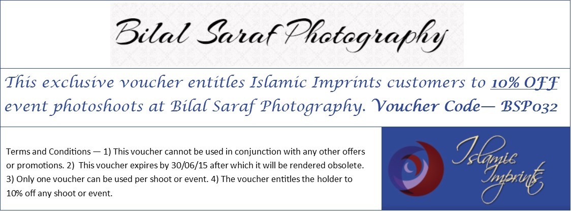 Islamic Imprints - Bilal Saraf Photography Offer 1