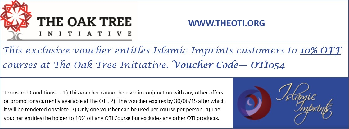 Islamic Imprints - OTI offer 1